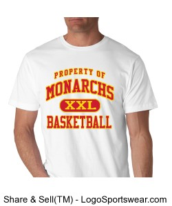 Official tee of the Monarchs Design Zoom